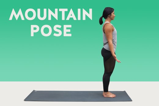 1. Mountain Pose