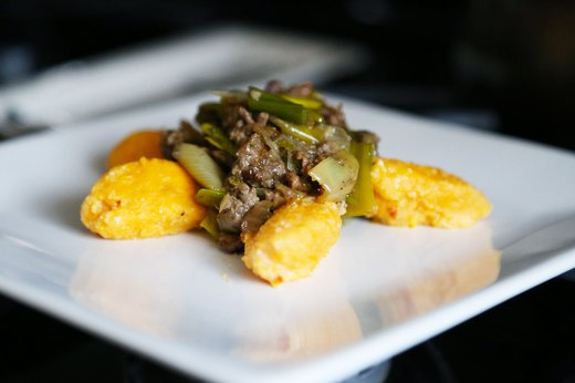 4. Sweet Potato Gnocchi With Lamb and Leek Ragu