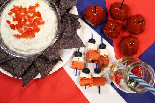 5. Patriots Spicy Black Bean Dip