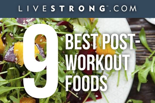 The 9 Best Post-Workout Foods
