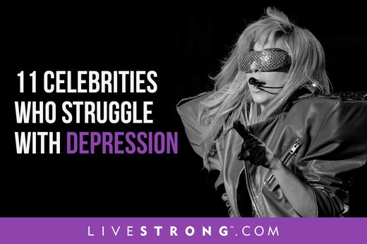 11 Celebrities Who Struggle With Depression