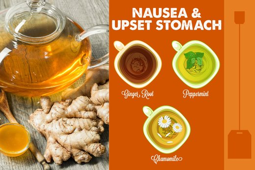 6. Nausea and/or Upset Stomach