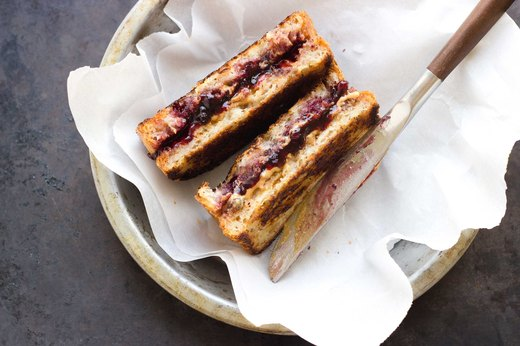 6. Grilled Peanut Butter and Jelly Sandwich