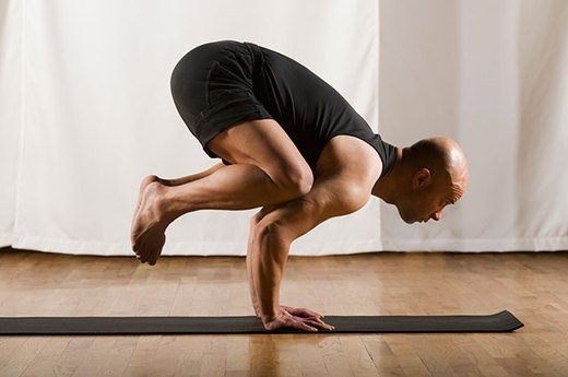 9. Master an Advanced Yoga Pose