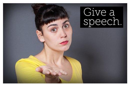 3. Practice Public Speaking