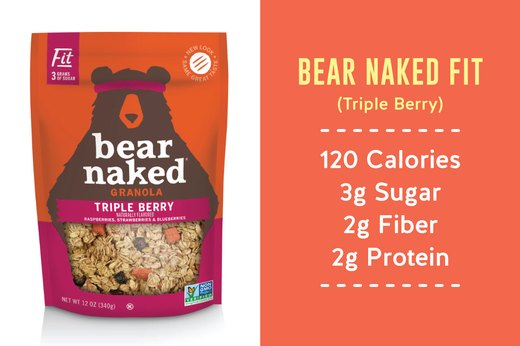3. BEST: Bear Naked Fit (Triple Berry)
