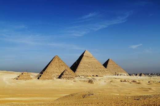 10. See the Pyramids of Giza
