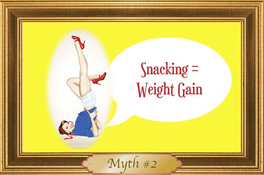 MYTH #2: Snacking = Weight Gain