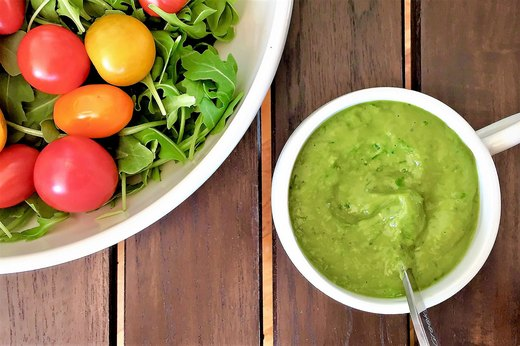 3. Green Goodness Dressing
