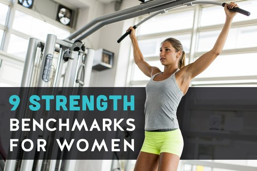 9 Essential Strength Benchmarks for Women