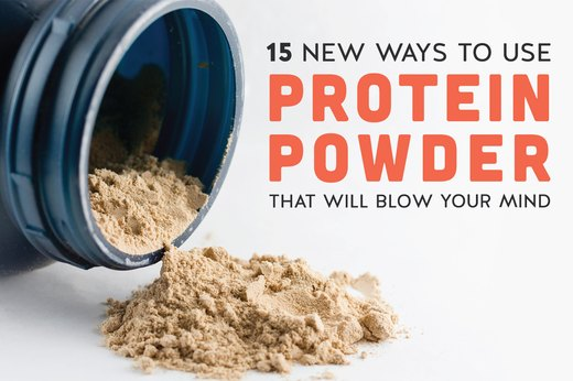 15 New Ways to Use Protein Powder That Will Blow Your Mind
