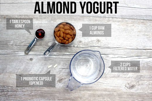 5. Almond Yogurt