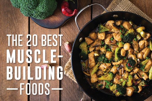 20 Best Muscle Building Foods