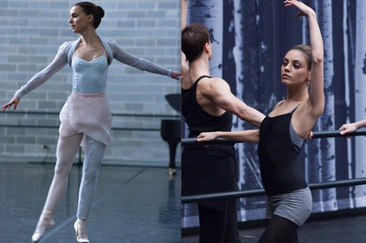 "11 & 12. Natalie Portman and Mila Kunis, ""Black Swan"""