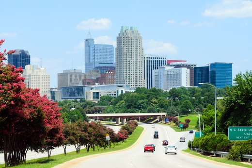 44. Raleigh, North Carolina