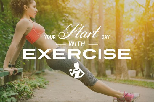 3. Start Your Day With Exercise
