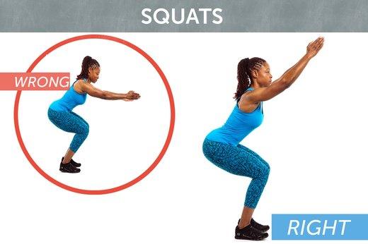 2. Squats