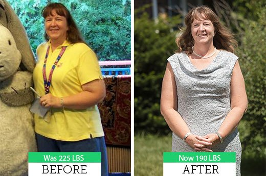How Connie B. Lost 35 Pounds