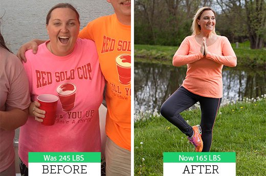 How Rebecca L. Lost 53 Pounds