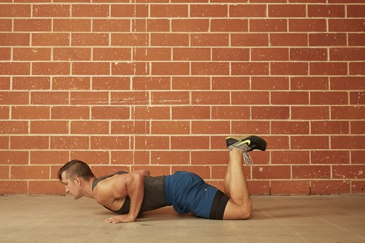 2. Modified (Knee) Push-Up