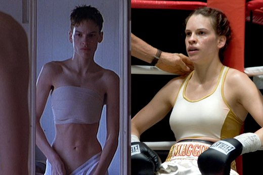 "4. Hilary Swank, ""Boys Don't Cry"""