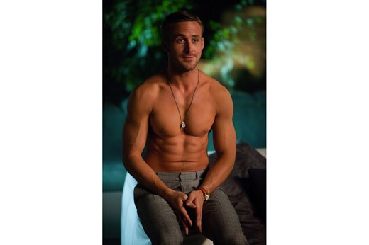 "22. Ryan Gosling in ""Crazy, Stupid, Love."""
