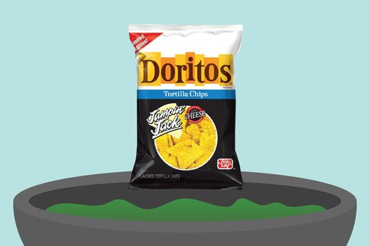 16. Jumpin' Jack Cheese Doritos