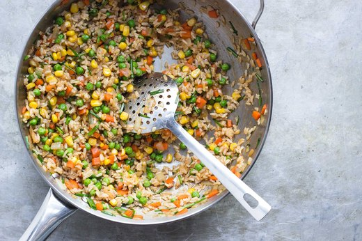 2. Veggie Fried Rice