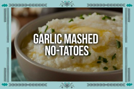 2. Garlic Mashed No-tatoes