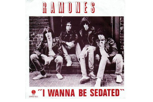 "14. ""I Wanna Be Sedated"" by The Ramones"