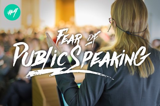 4. Fear of Public Speaking