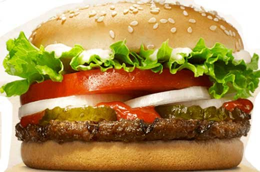 2. Burger King: Whopper Jr.