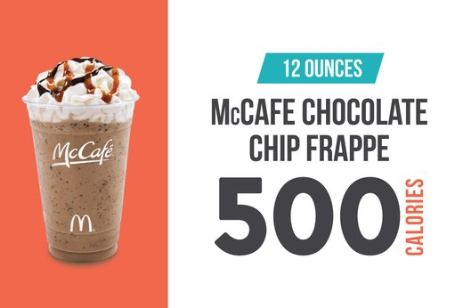 5. McCafe (McDonald's) Chocolate Chip Frappe