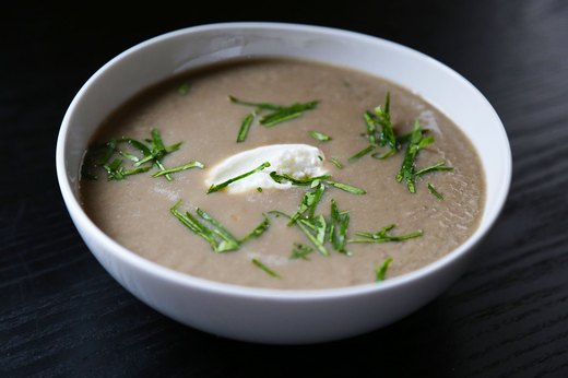 1. Roasted Sunchoke Soup