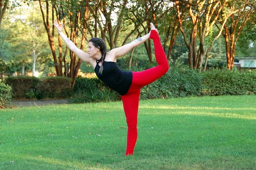 5. Lord of the Dance Pose (Natarajasana)