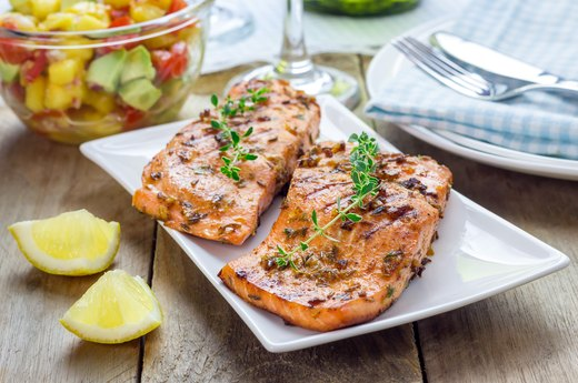 1. Best: Grilled Salmon