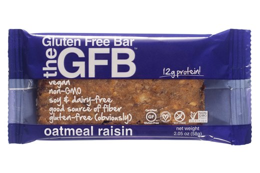 4. The Gluten-Free Bar Oatmeal Raisin