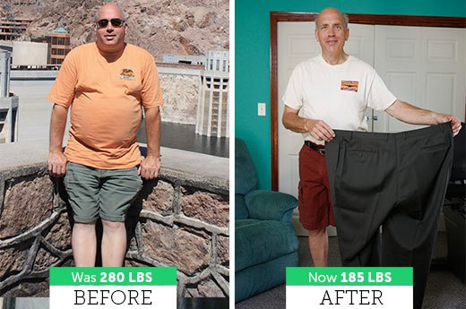How Dean L. Lost 95 Pounds!