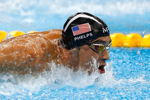 1. Michael Phelps Earns His 28th Olympic Medal