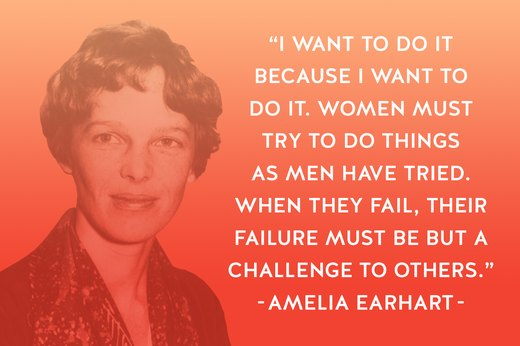 5. Amelia Earhart: Aviator, Author, Feminist