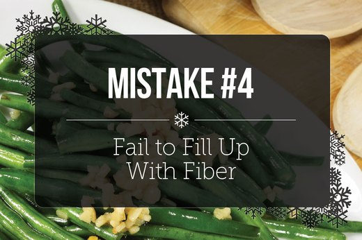 4. Fail to Fill Up With Fiber
