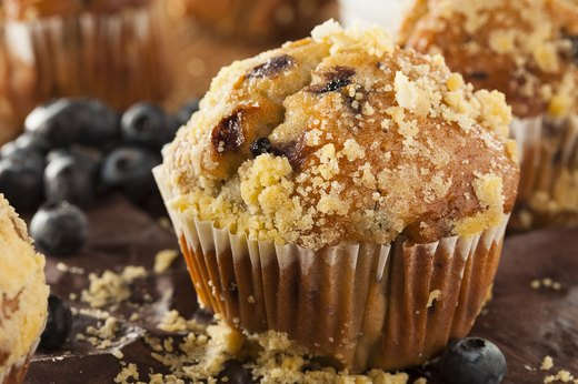 2. Muffins (Including Blueberry and Bran!)