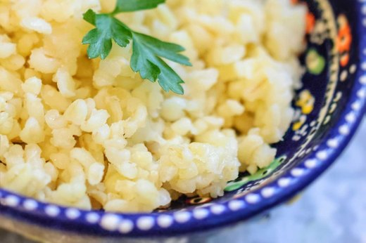 9. Bulgur (1 cup cooked = 5.5 grams)