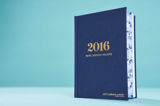 30. Lorna Jane Move Nourish Believe 2016 Planner and Diary