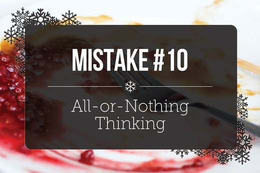 10. All-or-Nothing Thinking