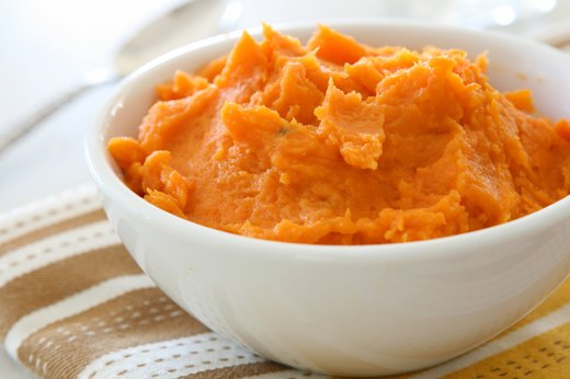 14. Mashed Sweet Potatoes