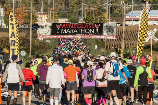 22. Wineglass Marathon (October)
