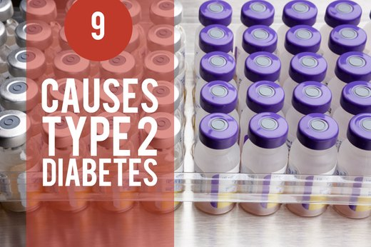 9. Stress Causes Type 2 Diabetes