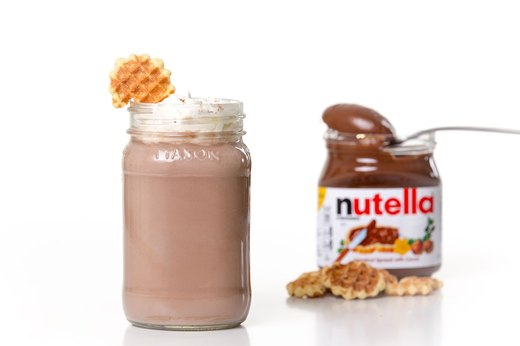 9. Nutty for Nutella Hot Chocolate