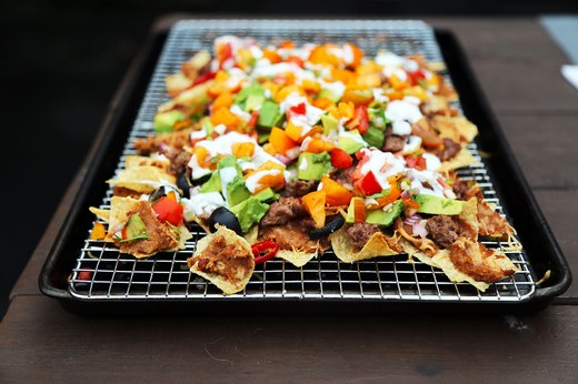 8. Ground-Beef Nachos